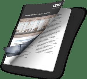 Corporate Secretarial Services Brochure Preview